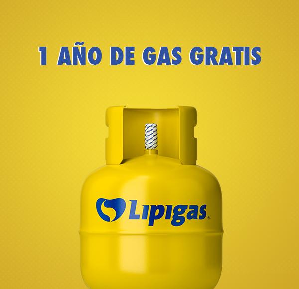 ¡Un año de gas gratis puede ser tuyo! - Campaña Cerrada